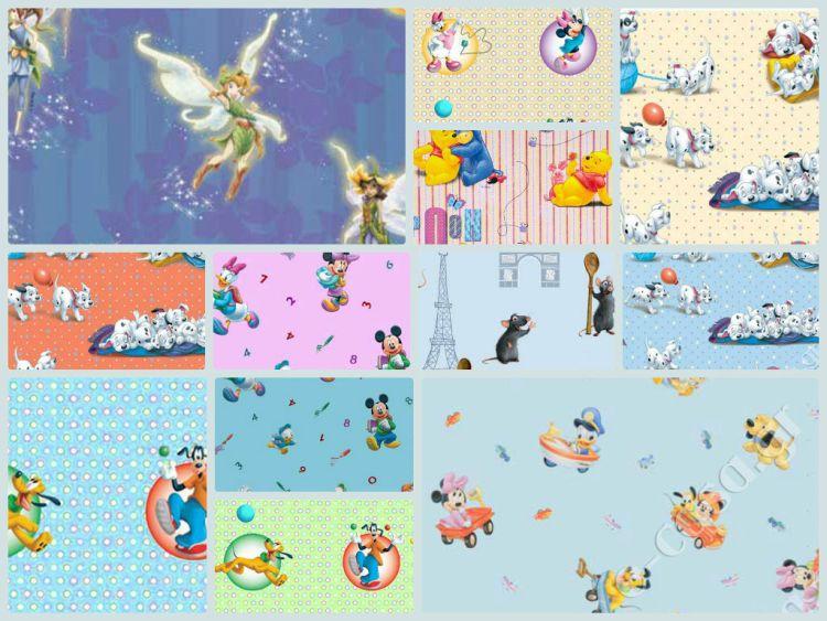 Παιδικές κουρτίνες Disney - Νέα σχέδια