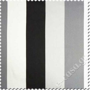 Σειρά My Style - Stripes Grey - Black