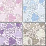 Νεα Σειρά Matilde - Σχέδιο Καρδούλες (4 χρώματα)