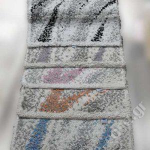 Βαμβακερά χαλάκια μπάνιου Multicolor 01