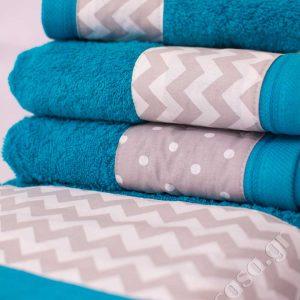 Σετ 4 τεμ. πετσέτες Chic Collection