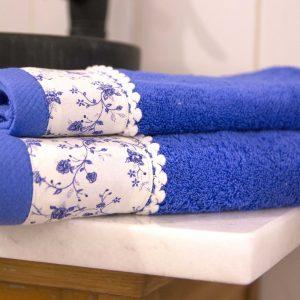 Σετ πετσέτες 3 τεμ. Chic Collection Aegean Blue