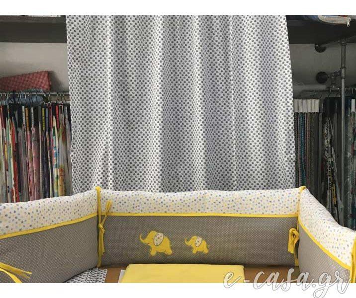 Προίκα μωρού σε γκρι κίτρινο