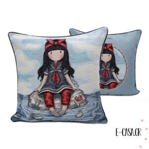 Διακοσμητικό μαξιλαράκι - Santoro Gorjuss Little Fishes