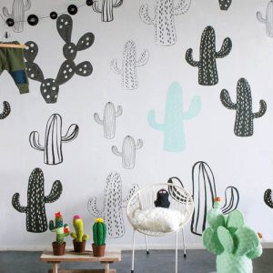 Παιδικό πόστερ Cactus - κάκτοι