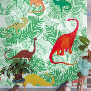 Παιδικό πόστερ Dino Jungle