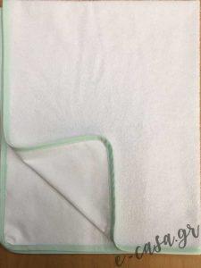 αδιαβροχο λευκο σελτεδακι με ρελι