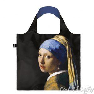 Τσάντα για ψώνια LOQI- Vermeer Girl