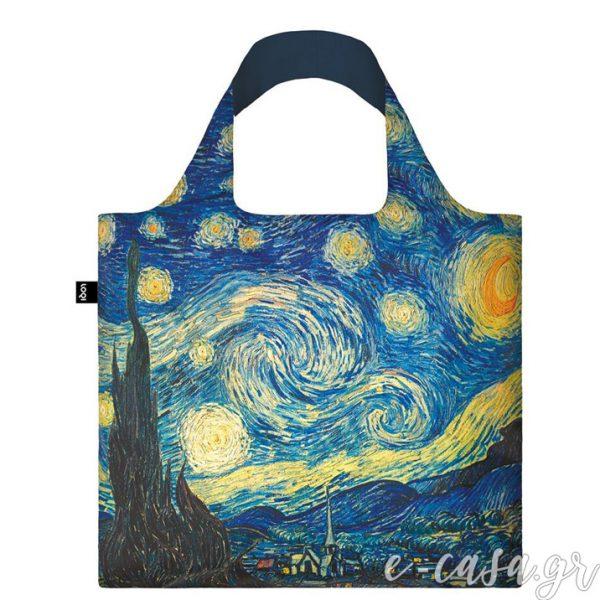 Τσάντα για ψώνια LOQI- Van Gogh The starry