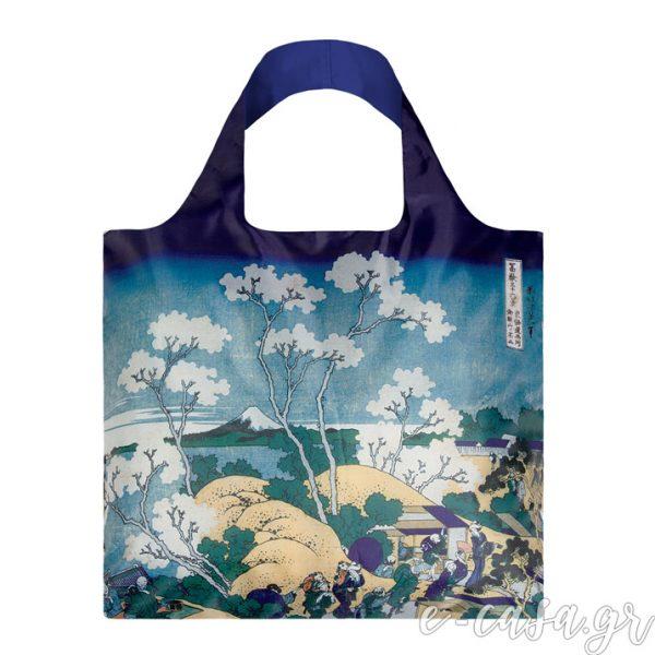 Τσάντα για ψώνια LOQI- Hukusai Great Wave