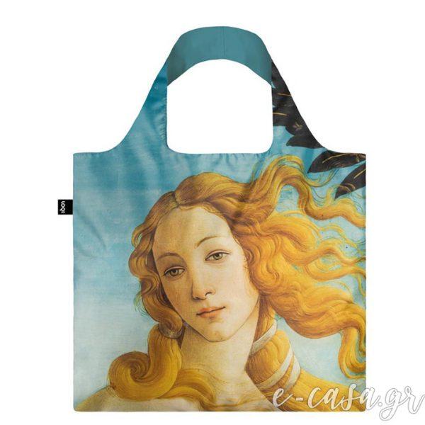 Τσάντα για ψώνια LOQI- Botticelli The birth