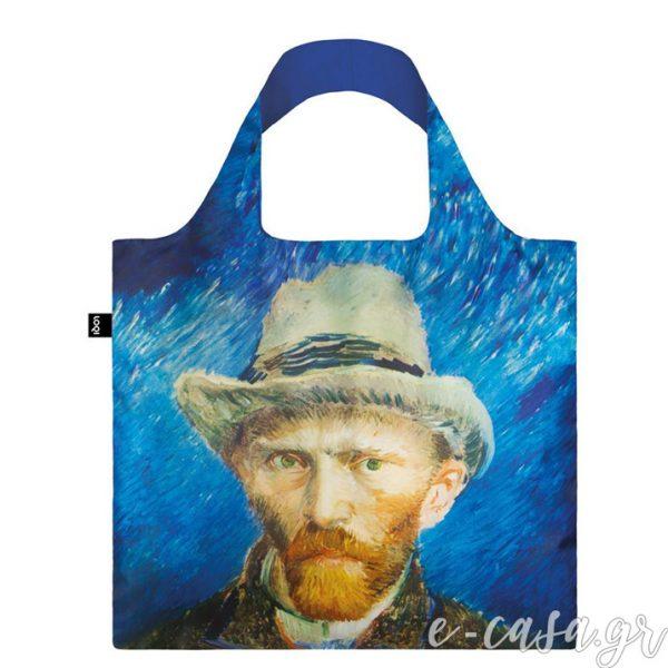 Τσάντα για ψώνια LOQI- Van Gogh Self Portrait