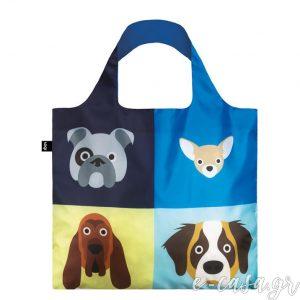 Τσάντα για ψώνια LOQI- Stephen Cheetham Dog bag