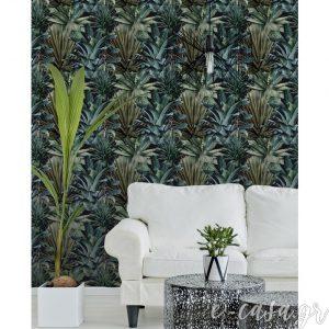 Ταπετσαρία Lush Succulents - Mind the Gap