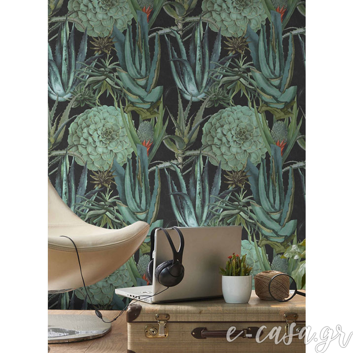 7855c86a010 Ταπετσαρία Succulentus - Mind the Gap (2 χρώματα) - Υφάσματα ...