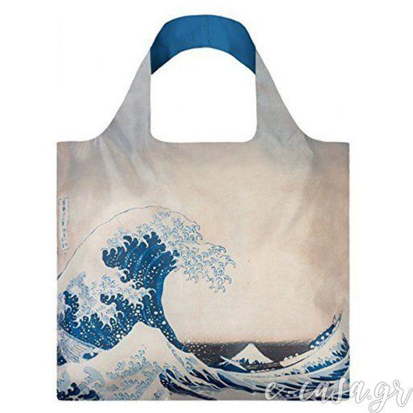 Τσάντα για ψώνια LOQI- Hukusai Fuji
