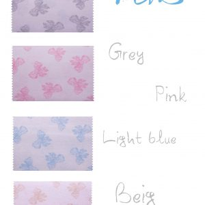 Σειρά Stars and Bows (σχέδιο φιογκάκια) 4 χρώματα