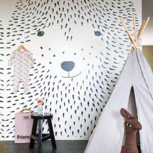 Παιδικό πόστερ Bear αρκούδος