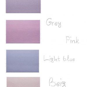 Σειρά Stars and Bows (σχέδιο πουά) 4 χρώματα