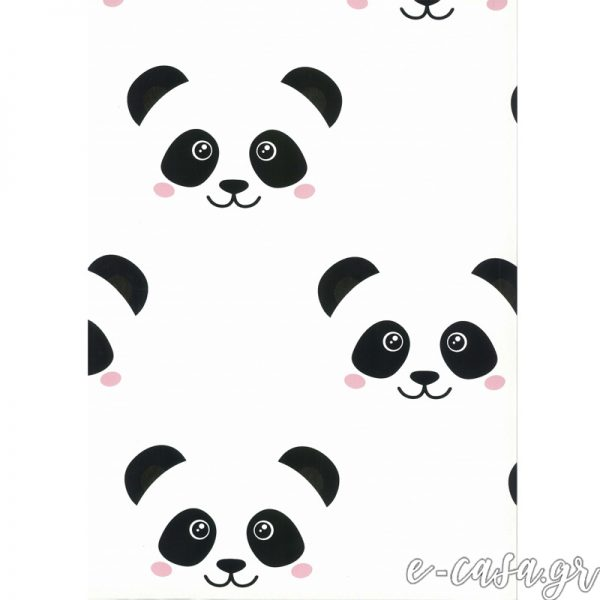Παιδική Ταπετσαρία με Panda