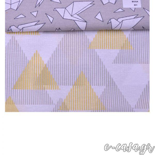 Σειρά Origami γεωμετρικά γκρι