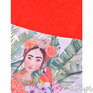 Μοναδική πετσέτα θαλάσσης Frida Kahlo