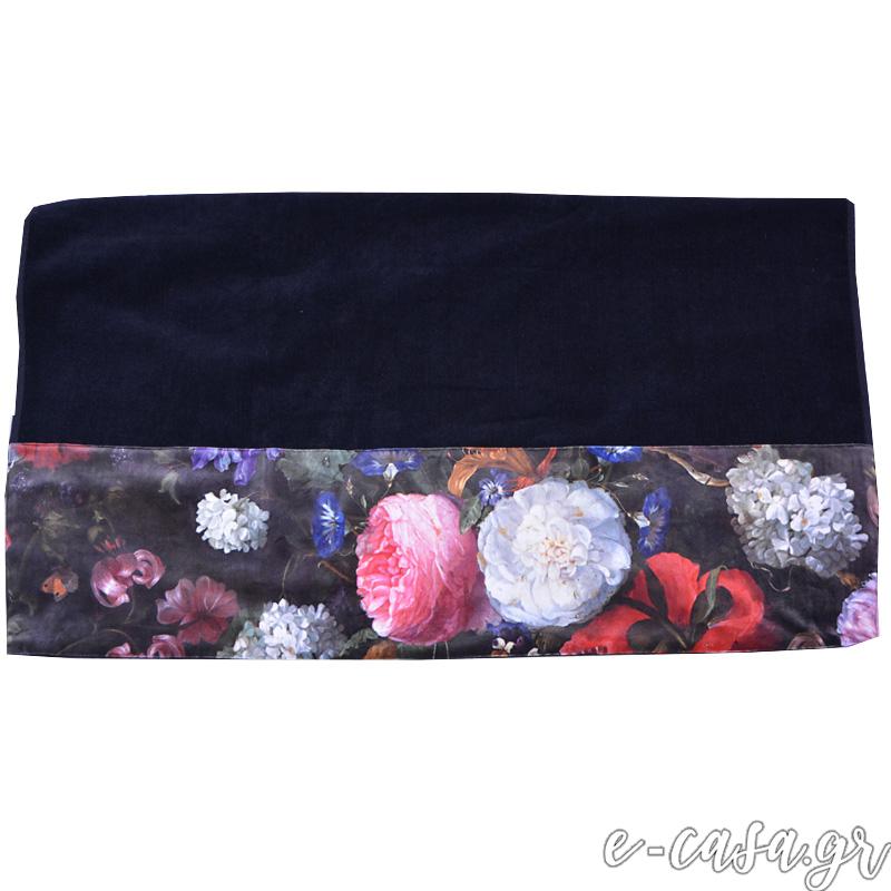 Μοναδική πετσέτα θαλάσσης Velvet Flowers