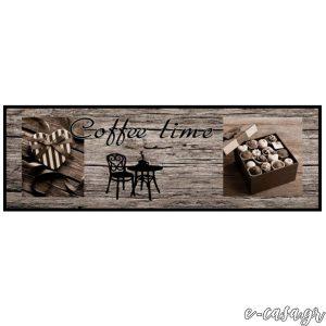 Χαλάκια κουζίνας 642 Coffee Time Wood