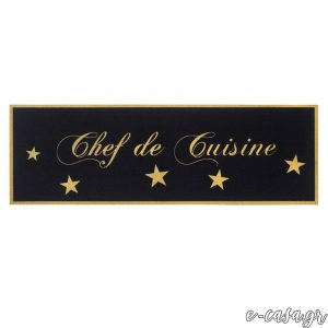 Χαλάκια κουζίνας 746 Chef De Cuisine Gold