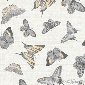 Σειρά Feather - Κίτρινο Πεταλούδες