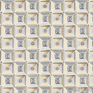 Σειρά Feather - Κίτρινο γεωμετρικό