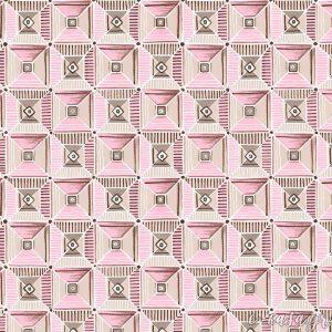 Σειρά Feather - Ροζ Γεωμετρικό