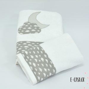 Σετ πετσέτες - Συννεφάκια