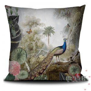Βελούδινο Μαξιλαράκι peacock