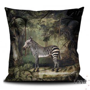 Βελούδινο Μαξιλαράκι Zebra
