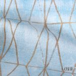 Ύφασμα για κουρτίνες Diamond light blue 5-2247