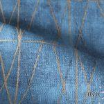 Ύφασμα για κουρτίνες Diamond blue 5-2248