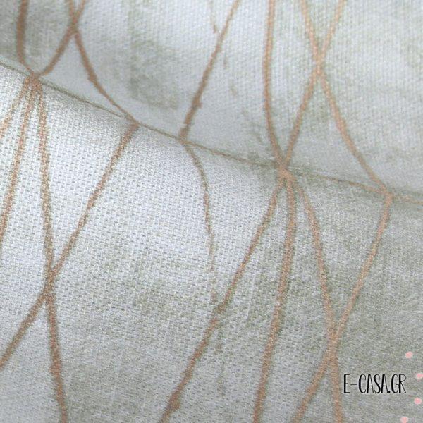 Ύφασμα για κουρτίνες Diamond Light Verde 5-2249