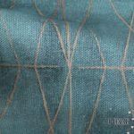 Ύφασμα για κουρτίνες Diamond Verde 5-2250