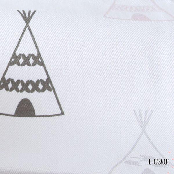 Ύφασμα Apache Ροζ (5-2262) ινδιανικες σκηνες βελη