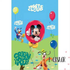 Παιδικό χαλί Disney Mickey Club House 25