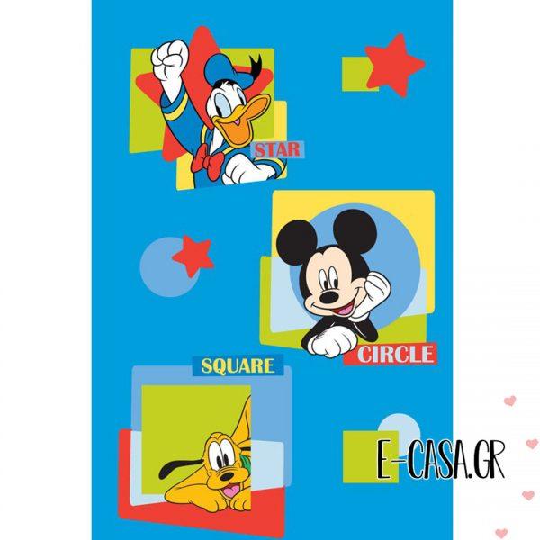 Παιδικό χαλί Disney Mickey Club House 28