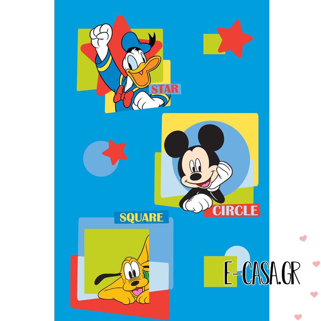 Παιδικό χαλί Disney Mickey Club House 28