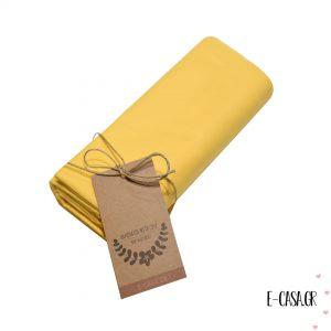 Βρεφικό Σεντονάκι κίτρινο μονόχρωμο