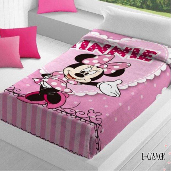 Παιδική Κουβέρτα Minnie Manterol 091
