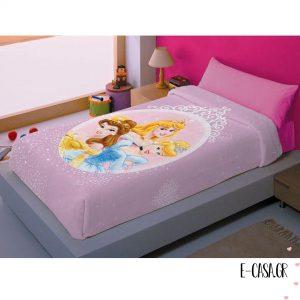 Παιδική Κουβέρτα Πριγκίπισσες 079