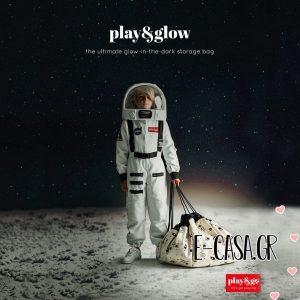 Τσάντα Στρώμα Παιχνιδιού Διάστημα Glow