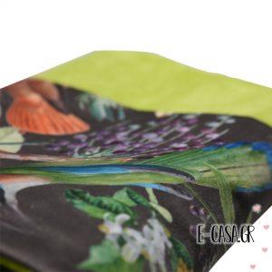 Μοναδική πετσέτα θαλάσσης Green Parrot