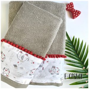 Σετ πετσέτες - Happy Elephant