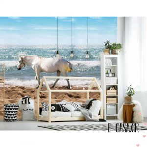 Πόστερ Horse on the Beach